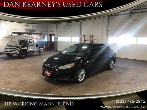 2016 Ford Focus for sale at DAN KEARNEY'S USED CARS in Center Rutland VT