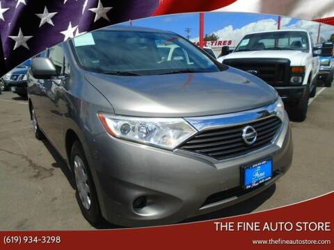 2012 Nissan Quest for sale at The Fine Auto Store in Imperial Beach CA