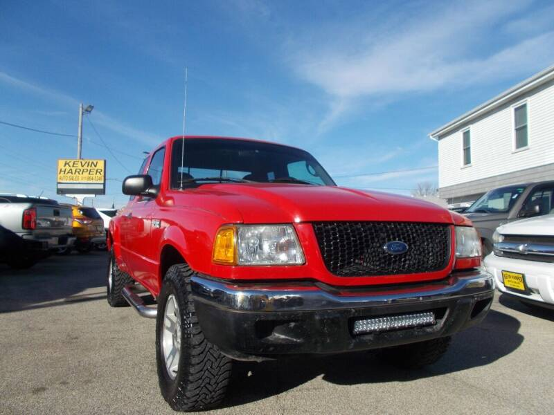 2003 Ford Ranger for sale at Kevin Harper Auto Sales in Mount Zion IL