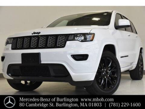 2020 Jeep Grand Cherokee for sale at Mercedes Benz of Burlington in Burlington MA