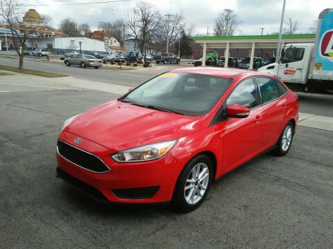 2016 Ford Focus for sale at BELLEFONTAINE MOTOR SALES in Bellefontaine OH