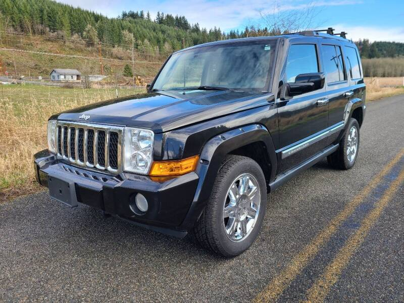 2008 Jeep Commander for sale at State Street Auto Sales in Centralia WA