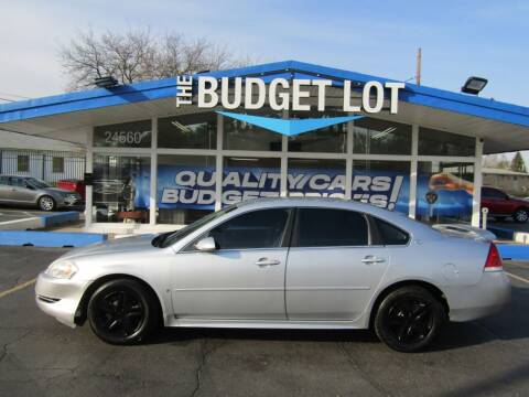 2009 Chevrolet Impala for sale at THE BUDGET LOT in Detroit MI