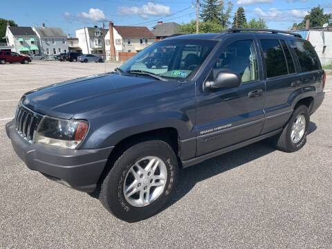 2003 Jeep Grand Cherokee for sale at On The Circuit Cars & Trucks in York PA