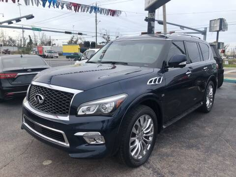 2015 Infiniti QX80 for sale at Outdoor Recreation World Inc. in Panama City FL