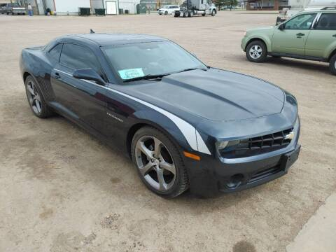 2013 Chevrolet Camaro for sale at BERG AUTO MALL & TRUCKING INC in Beresford SD