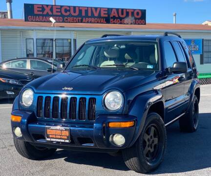 2003 Jeep Liberty for sale at Executive Auto in Winchester VA