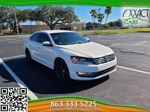 2015 Volkswagen Passat for sale at Exxact Cars in Lakeland FL