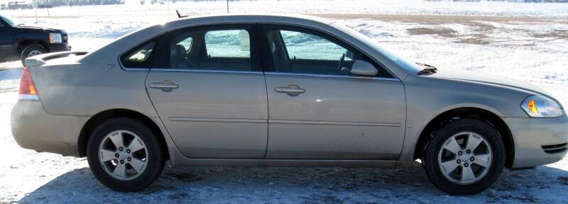 2008 Chevrolet Impala for sale at Rapp Motors in Marion SD
