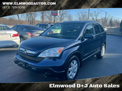 2009 Honda CR-V for sale at Elmwood D+J Auto Sales in Agawam MA