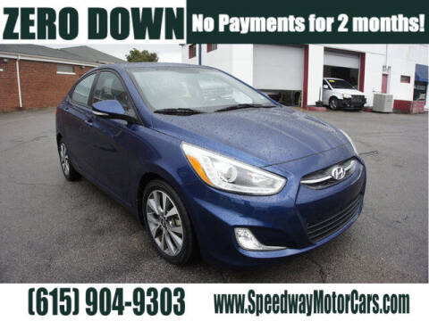 2016 Hyundai Accent for sale at Speedway Motors in Murfreesboro TN