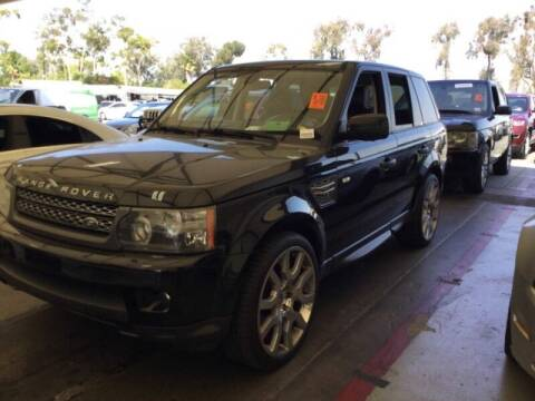 2010 Land Rover Range Rover Sport for sale at SoCal Auto Auction in Ontario CA