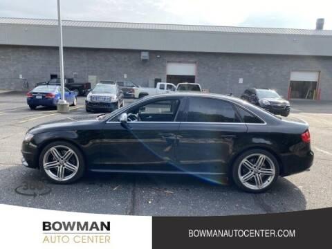 2011 Audi S4 for sale at Bowman Auto Center in Clarkston MI