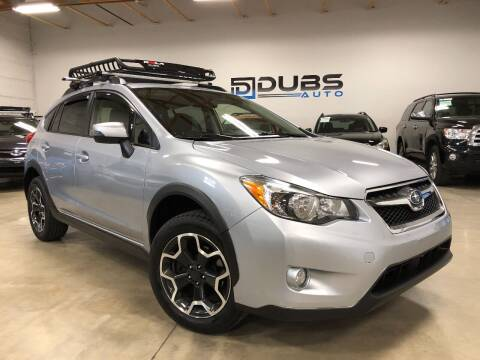 2015 Subaru XV Crosstrek for sale at DUBS AUTO LLC in Clearfield UT