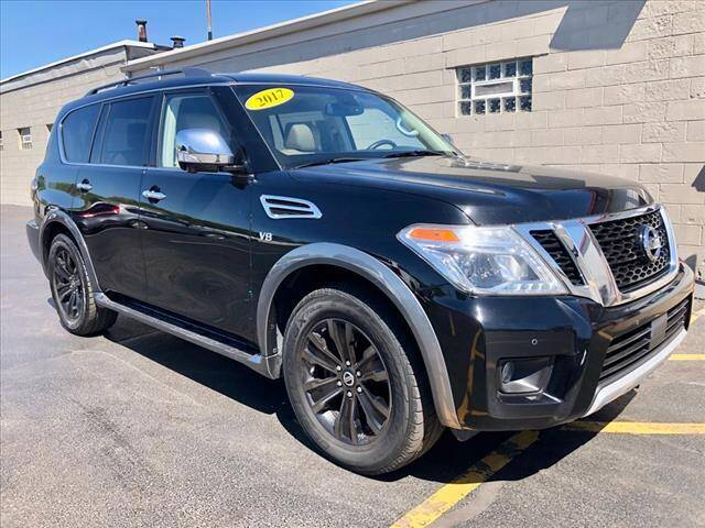 2017 Nissan Armada for sale at Richardson Sales & Service in Highland IN