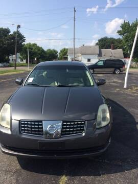 2006 Nissan Maxima for sale at Mike Hunter Auto Sales in Terre Haute IN