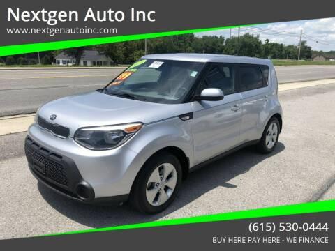 2014 Kia Soul for sale at Nextgen Auto Inc in Smithville TN