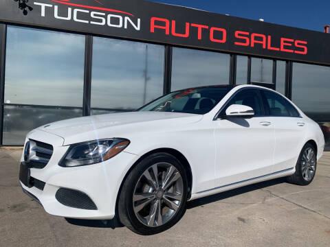 2016 Mercedes-Benz C-Class for sale at Tucson Auto Sales in Tucson AZ
