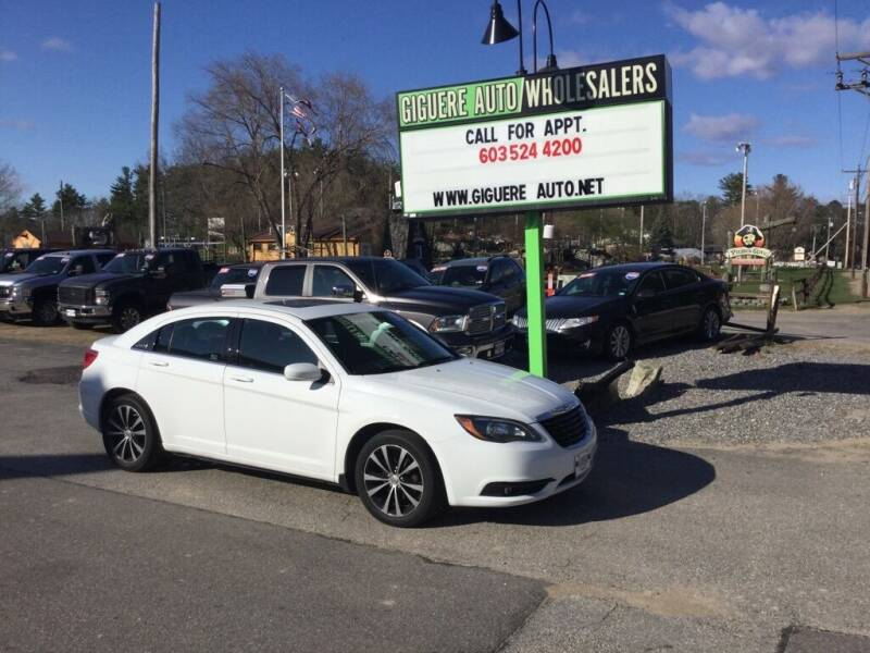 2014 Chrysler 200 for sale at Giguere Auto Wholesalers in Tilton NH