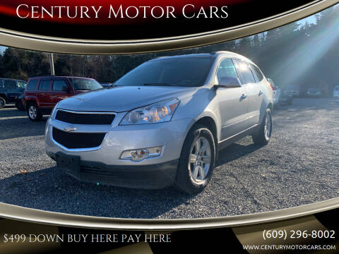 2012 Chevrolet Traverse for sale at Century Motor Cars in West Creek NJ
