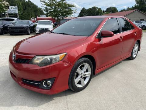 2012 Toyota Camry for sale at Auto Class in Alabaster AL