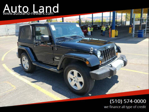 2008 Jeep Wrangler for sale at Auto Land in Newark CA
