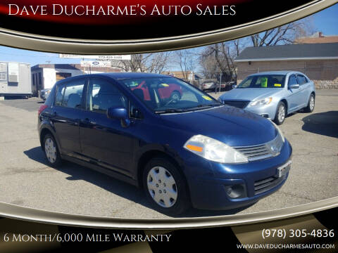 2007 Nissan Versa for sale at Dave Ducharme's Auto Sales in Lowell MA