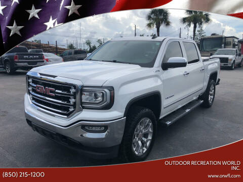 2017 GMC Sierra 1500 for sale at Outdoor Recreation World Inc. in Panama City FL