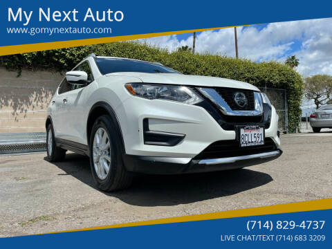 2018 Nissan Rogue for sale at My Next Auto in Anaheim CA