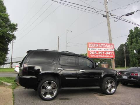 2009 Chevrolet Tahoe for sale at Colvin Auto Sales in Tuscaloosa AL