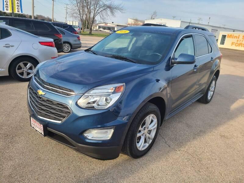 2016 Chevrolet Equinox for sale at Swan Auto in Roscoe IL