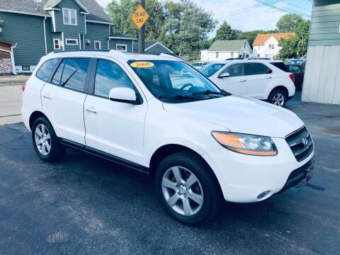 2008 Hyundai Santa Fe for sale at SHEFFIELD MOTORS INC in Kenosha WI