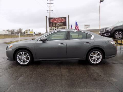 2014 Nissan Maxima for sale at MYLENBUSCH AUTO SOURCE in O` Fallon MO