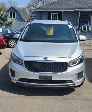 2015 Kia Sedona for sale at MGM Auto Sales in Cortland NY