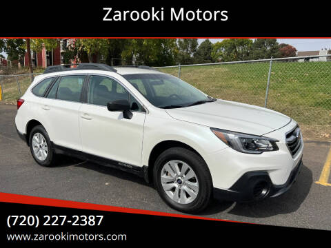 2018 Subaru Outback for sale at Zarooki Motors in Englewood CO