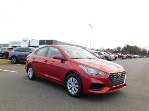 2018 Hyundai Accent for sale at Radley Cadillac in Fredericksburg VA
