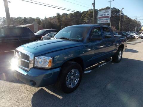 2006 Dodge Dakota for sale at Deer Park Auto Sales Corp in Newport News VA