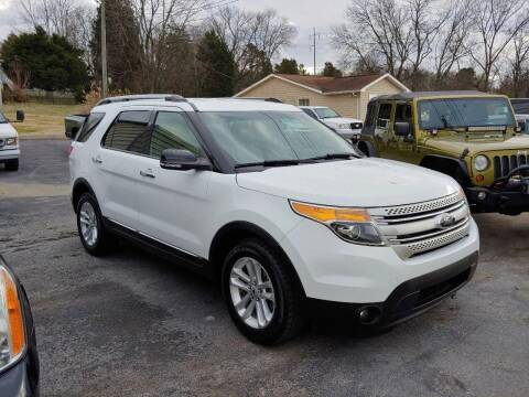 2014 Ford Explorer for sale at K & P Used Cars, Inc. in Philadelphia TN