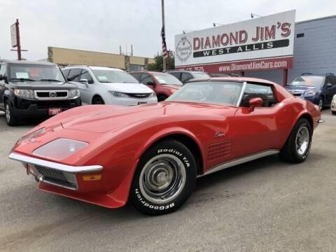 1971 Chevrolet Corvette for sale at Diamond Jim's West Allis in West Allis WI