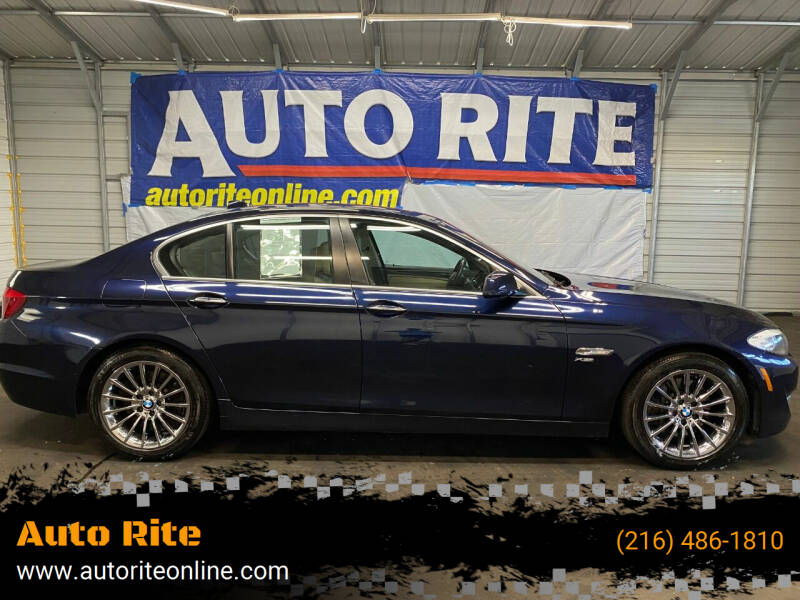 2011 BMW 5 Series for sale at Auto Rite in Cleveland OH