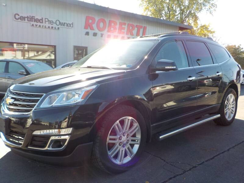 2014 Chevrolet Traverse for sale at Roberti Automotive in Kingston NY