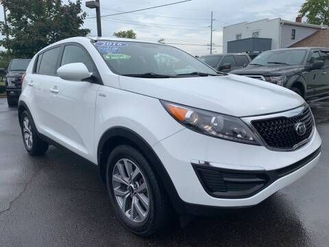 2016 Kia Sportage for sale at A 1 Motors in Monroe MI