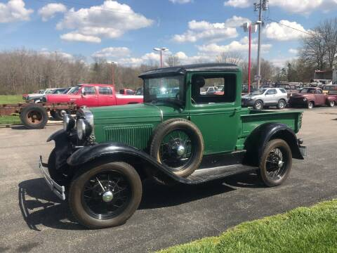 1930 Ford Model A for sale at FIREBALL MOTORS LLC in Lowellville OH