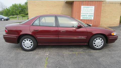 2002 Buick Century for sale at LENTZ USED VEHICLES INC in Waldo WI