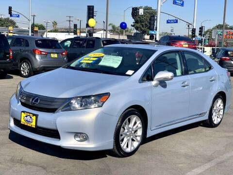 2010 Lexus HS 250h for sale at Best Car Sales in South Gate CA