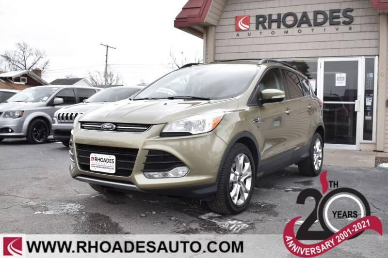 2013 Ford Escape for sale at Rhoades Automotive in Columbia City IN