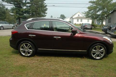 2011 Infiniti EX35 for sale at Bruce H Richardson Auto Sales in Windham NH