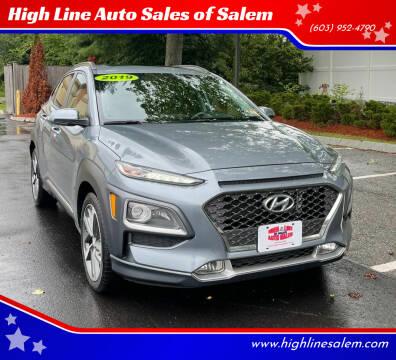 2019 Hyundai Kona for sale at High Line Auto Sales of Salem in Salem NH