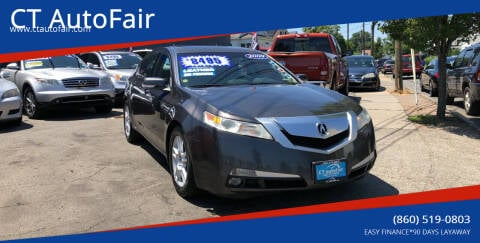2009 Acura TL for sale at CT AutoFair in West Hartford CT