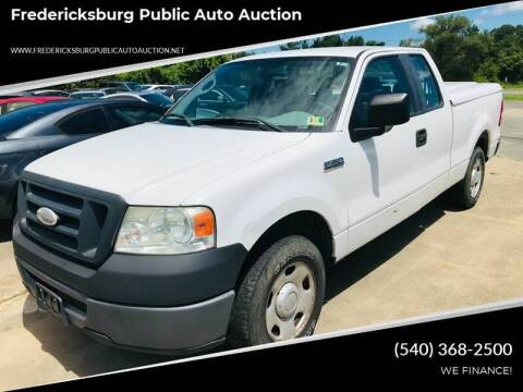 2007 Ford F-150 for sale at FPAA in Fredericksburg VA